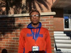 2020 Florida Gators quarterback commit Anthony Richardson visiting Florida- 1280x960