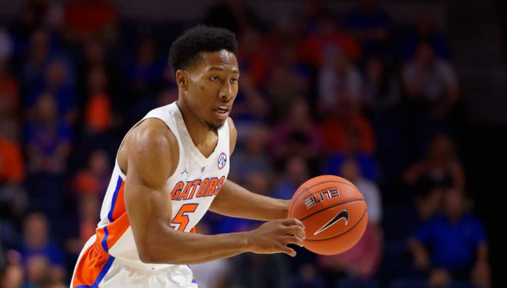Florida Gators guard KeVaughn Allen against Charleston Southern- 1280x853