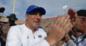 Florida Gators head coach Dan Mullen after the win over South Carolina- 1280x852