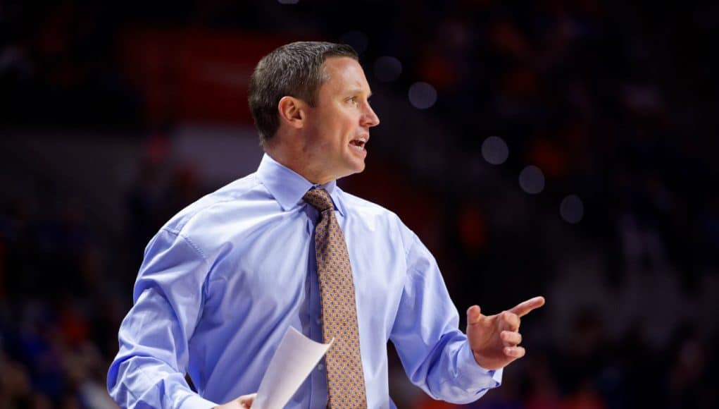 Florida Gators head coach Mike White coaches against Charleston Southern-1280x853
