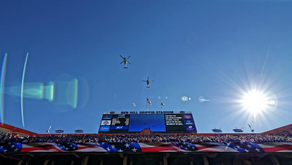 Flyover before the Florida Gators took on Missouri- 1280x852
