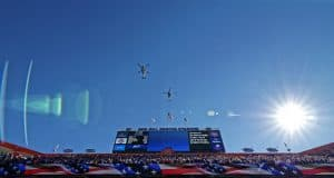 Flyover before the Florida Gators took on Missouri- 1280x852