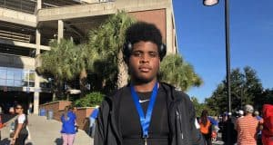 South Carolina offensive line commit Issiah Walker visiting the Florida Gators- 1280x960