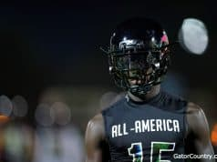 Florida Gators DB Kaiir Elam at the Under Armour game-1280x853