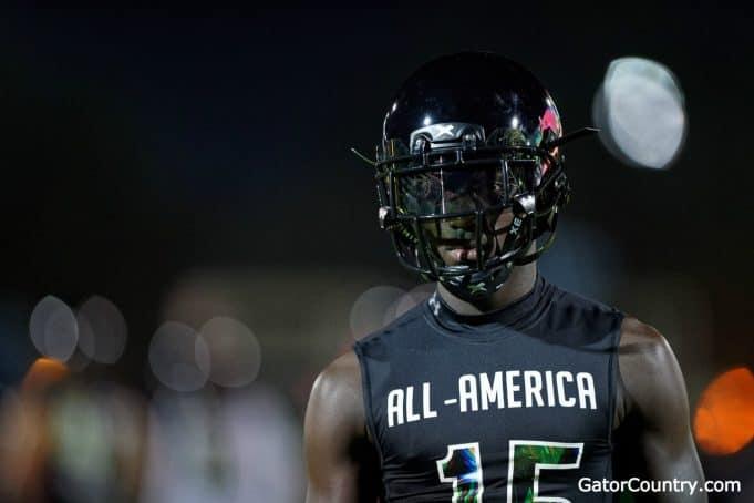 Florida Gators DB Kaiir Elam at the Under Armour game-1280x853