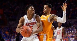 KeVaughn Allen in the second half as the Florida Gators fall to Tennessee - Florida Gators Basketball - 1280x854