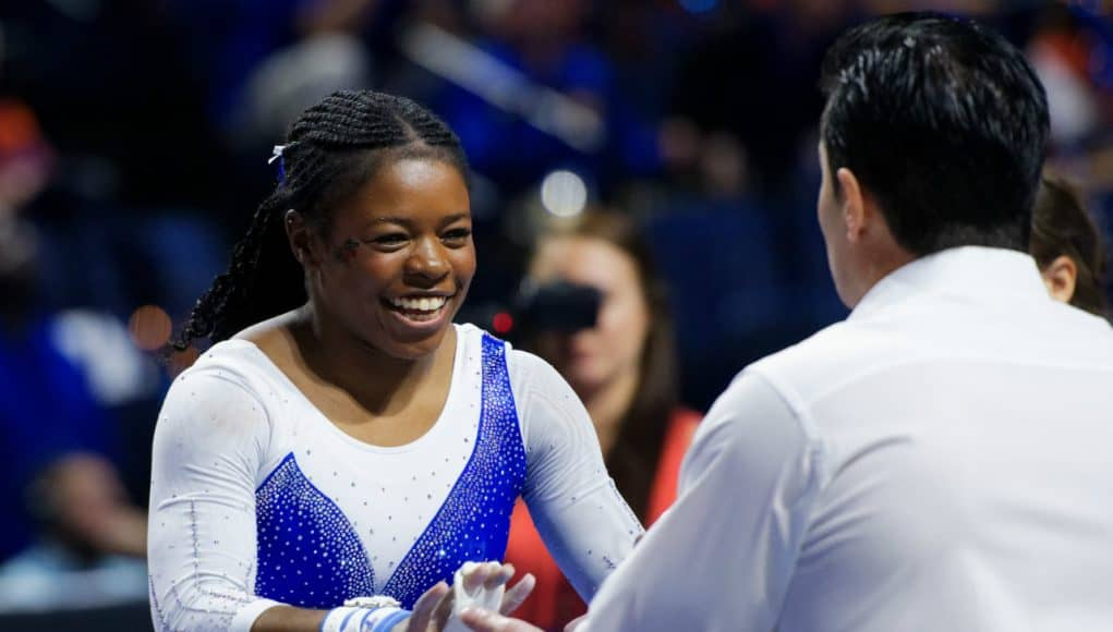 Florida Gators gymnast Alicia Boren competes for the Gators- 1280x853