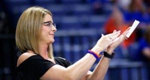 Florida Gators gymnastics head coach Jenny Rowland- 1280x852