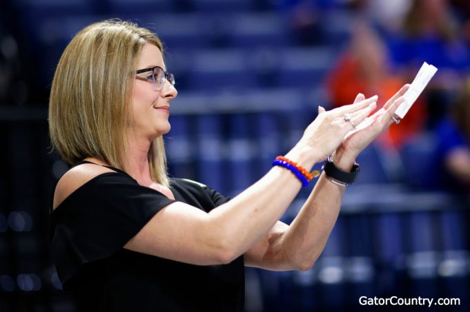 Florida Gators gymnastics head coach Jenny Rowland- 1280x852