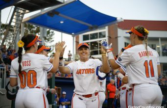 Florida Gators left fielder Amanda Lorenz in 2019- 1280x853