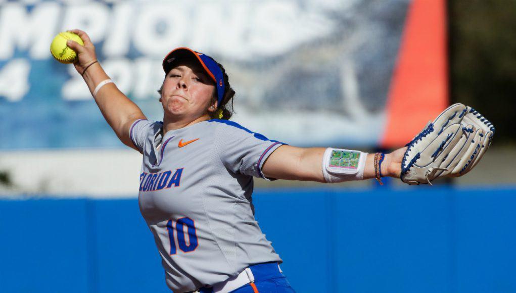 Florida Gators softball pitcher Natalie Lugo- 1280x853