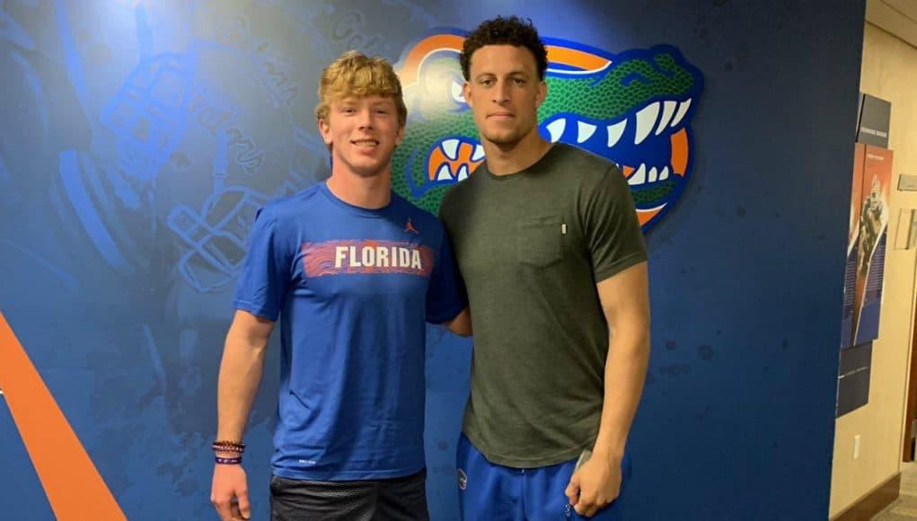 2021 quarterback Brock Vandagriff visiting the Florida Gators- 1280x1254