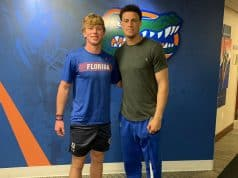2021 quarterback Brock Vandagriff visiting the Florida Gators- 1280x1254