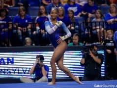 Florida Gators gymnast Trinity Thomas competes in 2019- 1280x853