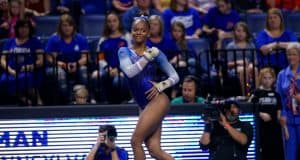 Florida Gators gymnast Trinity Thomas competes in 2019- 1280x853