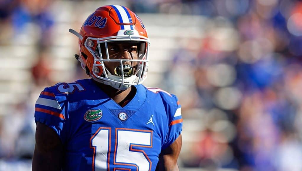 Florida Gators wide receiver Jacob Copeland debuts in the Idaho game - Florida Gators football - 1280x853