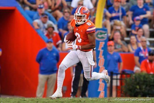 Florida Gators wide receiver Trevon Grimes makes a catch in the Colorado State game - Florida Gators Football - 1280x854