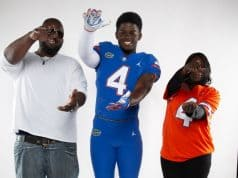 Defensive end Antwaun Powell during his official visit to Florida- 1280x1388