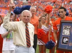 George Edmondson honored before a win over Kentucky in 2008- Florida Gators football- 1280
