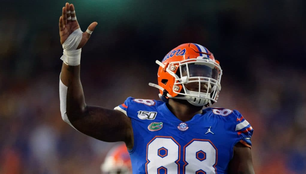 Florida Gators defensive lineman Adam Shuler against UT-Martin- 1280x853