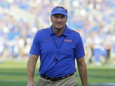 Florida Gators head coach Dan Mullen against Kentucky- 1280x900