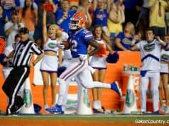 Florida Gators receiver Van Jefferson scores against UT-Martin- 1280x853