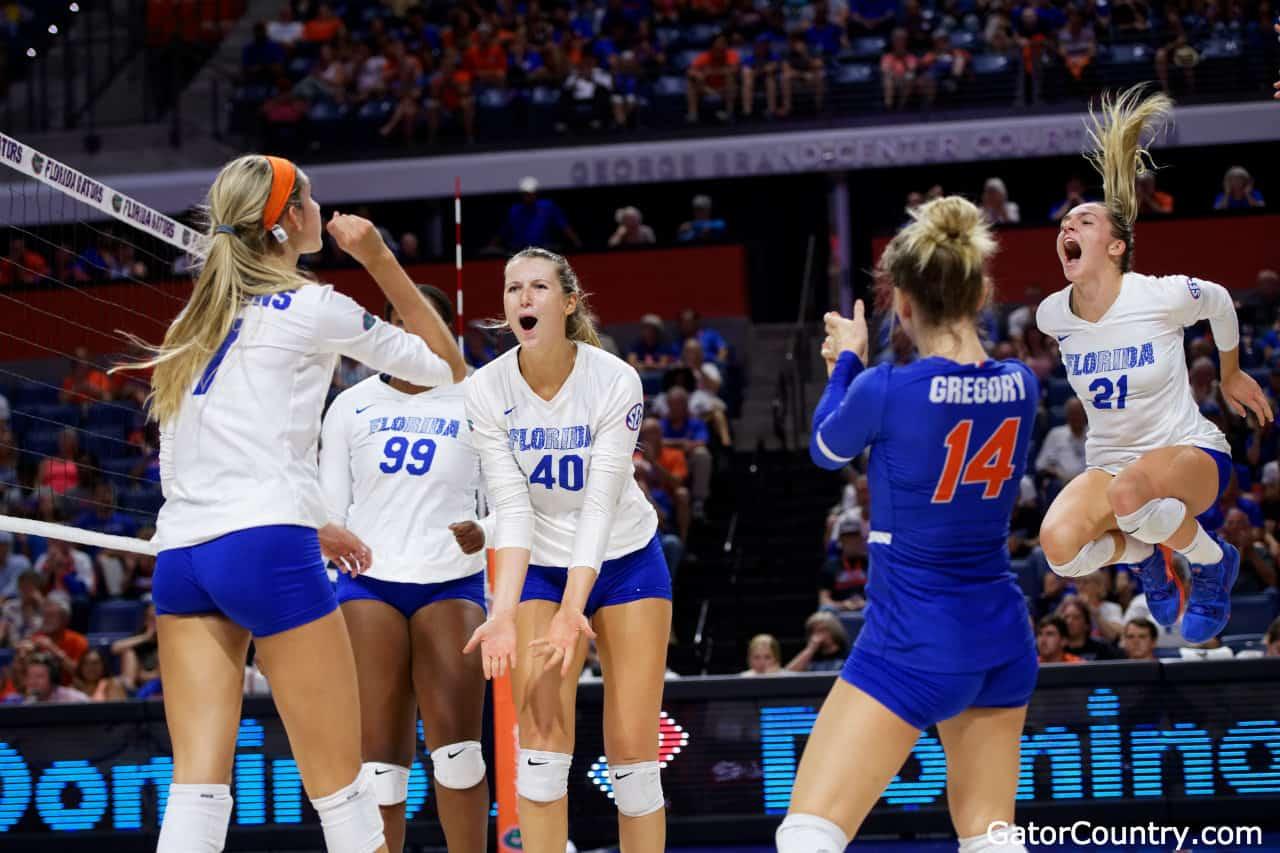 Florida Gators Volleyball Knocks Off Missouri Gatorcountry Com