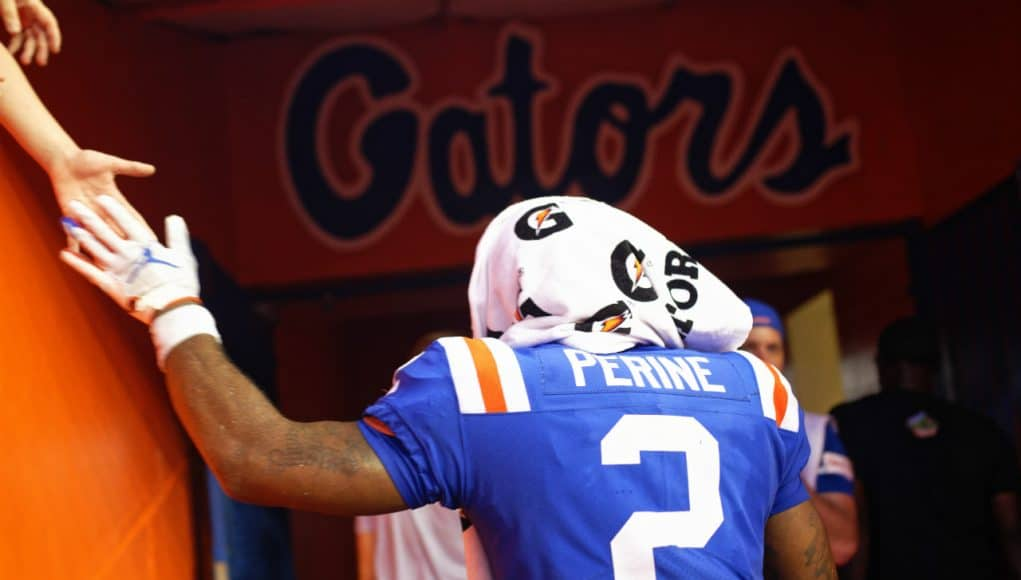 Florida Gators running back Lamical Perine leaves the field after defeating Auburn- 1280x853