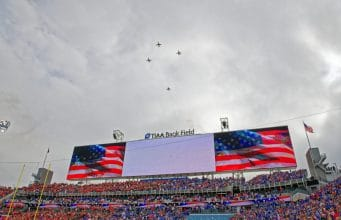 Flyover-Florida Gators Football vs Georgia Bulldogs 2019- 1280x853