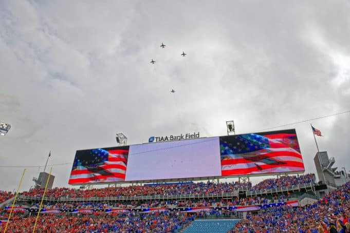 Flyover-Florida Gators Football vs Georgia Bulldogs 2019- 1280x853