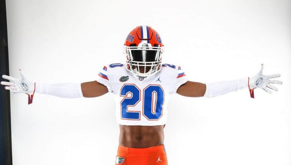 Safety Mordecai McDaniel on his official visit to Florida- 1280x1359