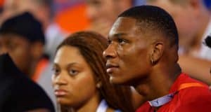 University of Florida commit Anthony Richardson watches the Florida Gators beat Tennessee Martin- Florida Gators football- 1280x853