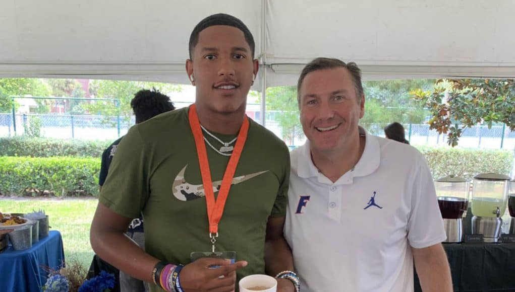 2021 Florida Gators quarterback commit Carlos Del Rio- 1280x1394