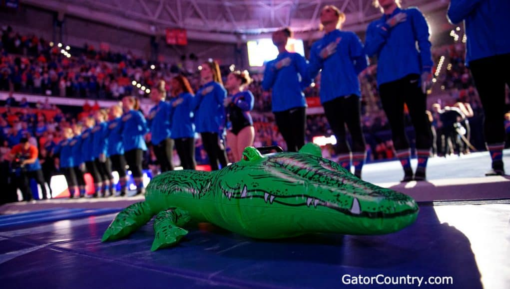 Florida Gators Gymnastics before their 2020 meet- 1280x719
