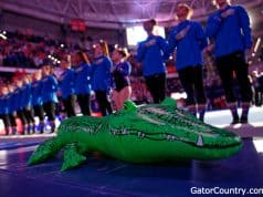 Florida Gators Gymnastics before their 2020 meet- 1280x719