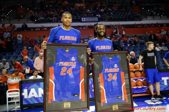 Florida Gators forward Kerry Blackshear Jr during Senior Day for the Florida Gators-1280x853
