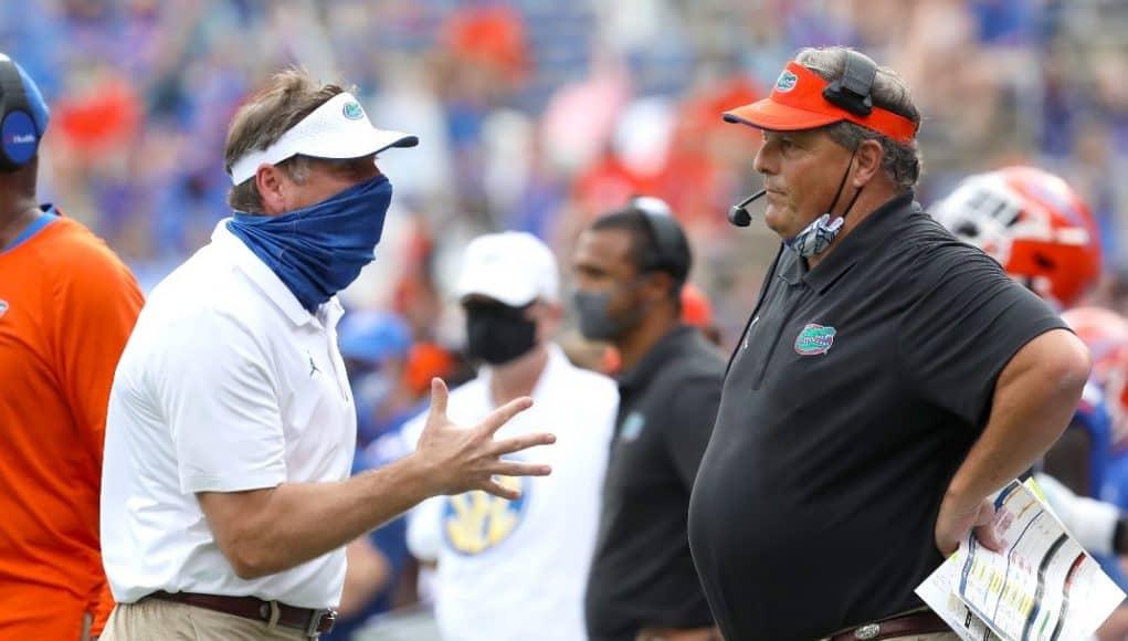 Dan Mullen yelling at defensive coordinator Todd Grantham-1070x850