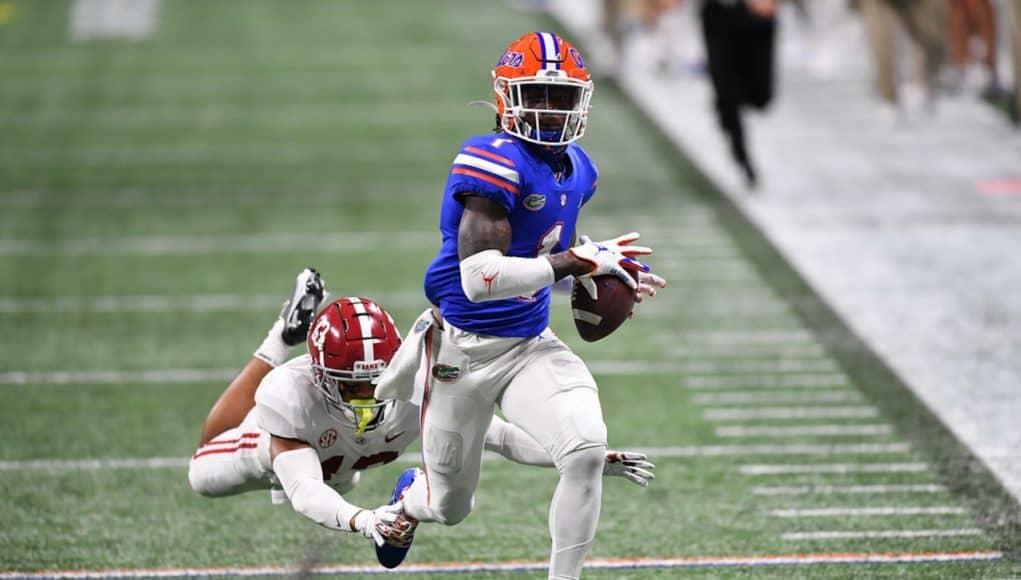 2021 NFL Draft: Kadarius Toney selected No. 20 by New York Giants |  GatorCountry.com