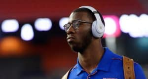 Kyle Pitts during Gator Walk as the Gators prepare to face the Florida State Seminoles at Ben Hill Griffin Stadium in Gainesville, Florida. November 30th, 2019. - 1280x853