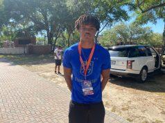 2022 receiver Jayden Gibson at Florida's cookout- 875x656