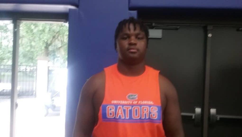 Defensive lineman Stantavious Smith visiting the Florida Gators-1280x720
