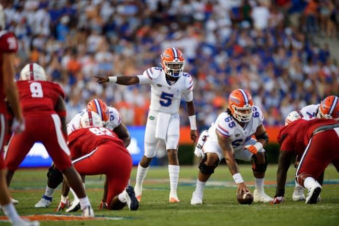 Florida Gators quarterback Emory Jones makes his first start against FAU-1280x853