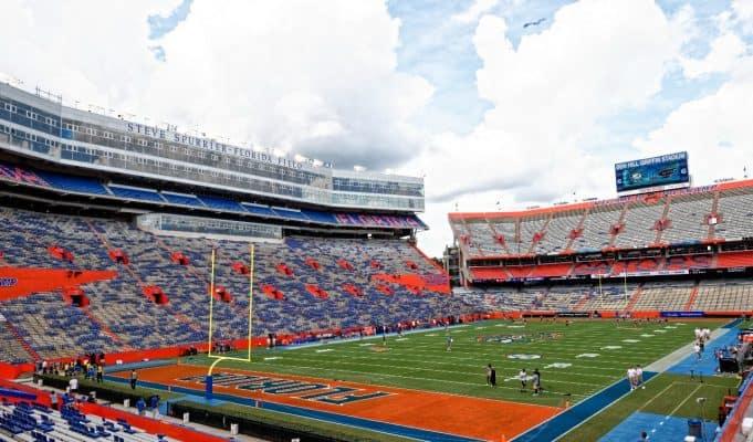 The Swamp before the Florida Gators took on the Alabama Crimson Tide-1280x853