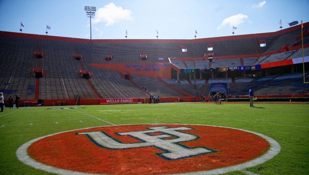 Florida Gators logo for the 2021 homecoming game against Vanderbilt-1280x853